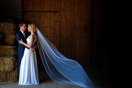 Hochzeit in Scheune