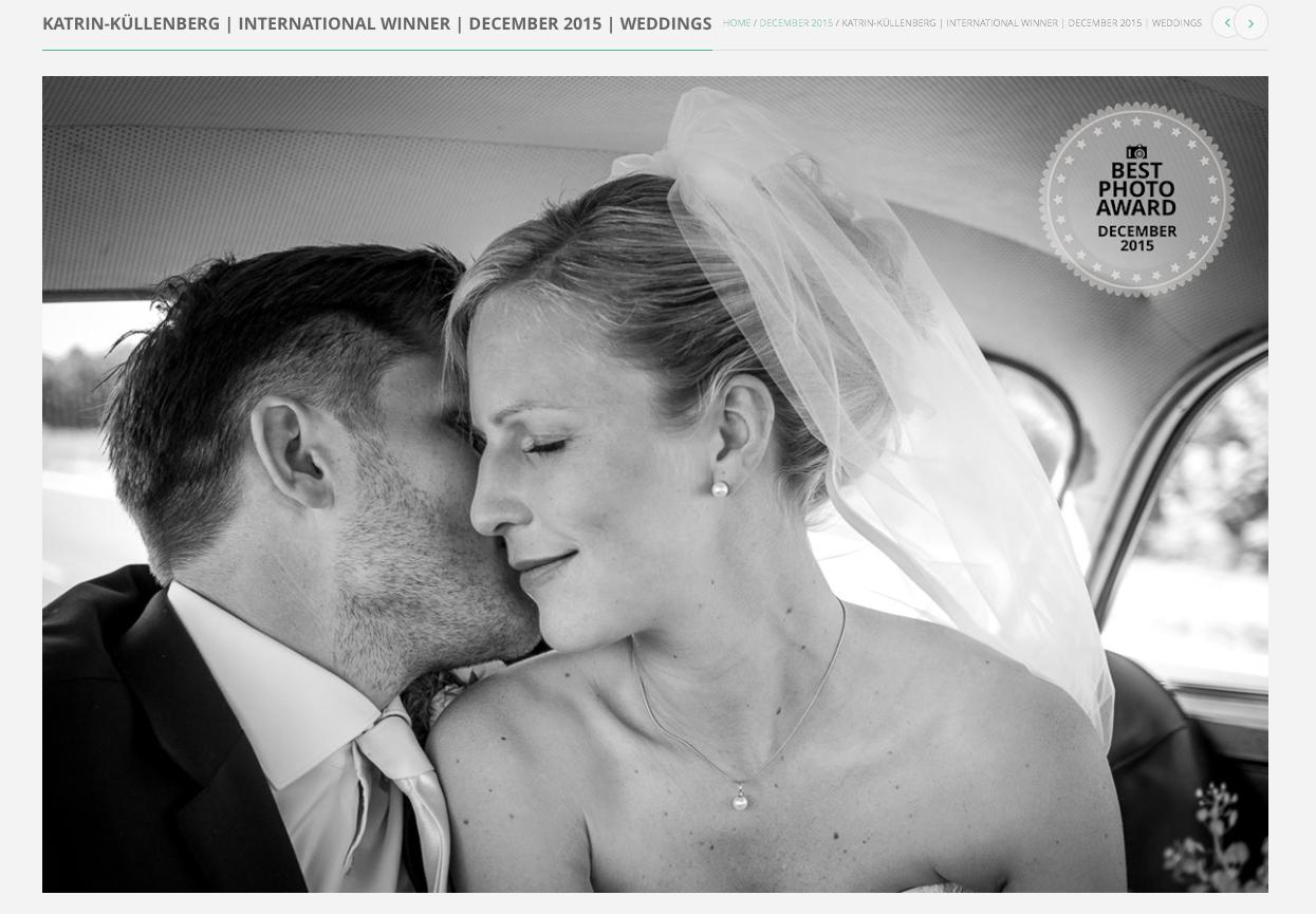 Best Photo Award Hochzeitsfotograf