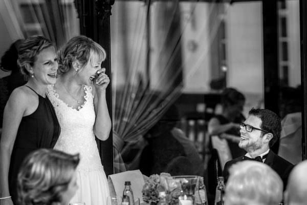 Hochzeitsempfang im Freien