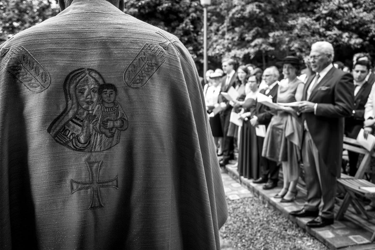 Kirchliche Trauung im Freien Düsseldorf