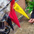 Regenschirme auf Hochzeitsfeier Düsseldorf