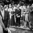 Hochzeit im Freien mit hochzeitsfotograf Düsseldorf