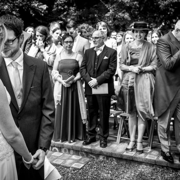 Hochzeit im Freien mit Hochzeitsfotograf
