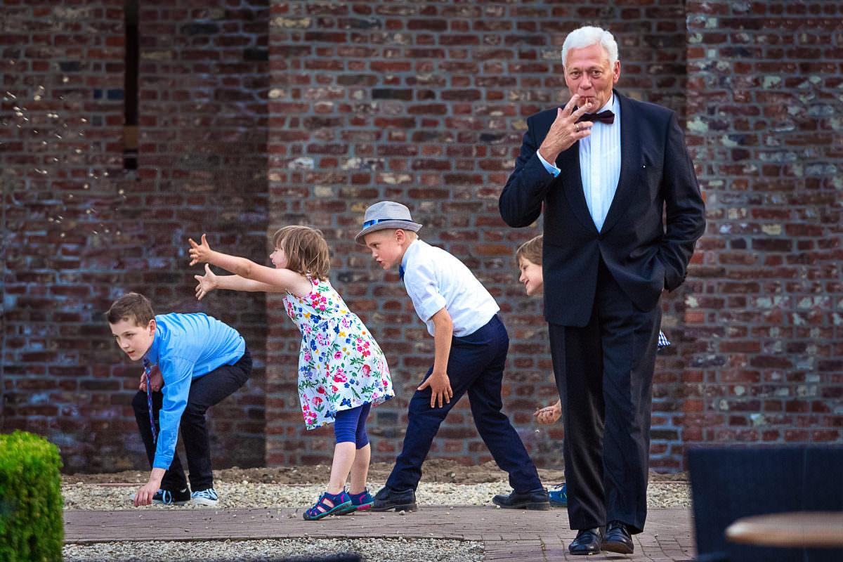 Hochzeit mit Kindern Spiele