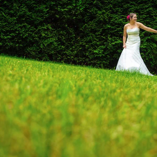 Elegante Brautpaarfotos
