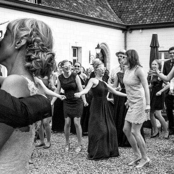 Flashmob bei Hochzeit