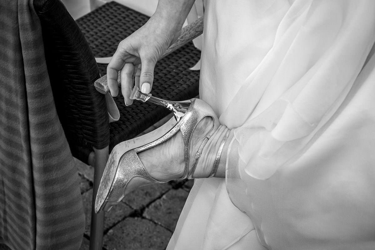 Absatzschutz für Brautschuhe Heel protection