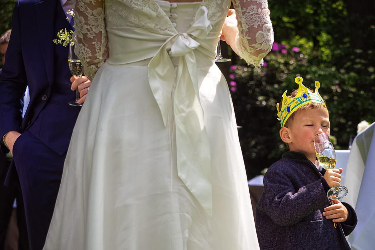 Kinder auf Hochzeit Düsseldorf