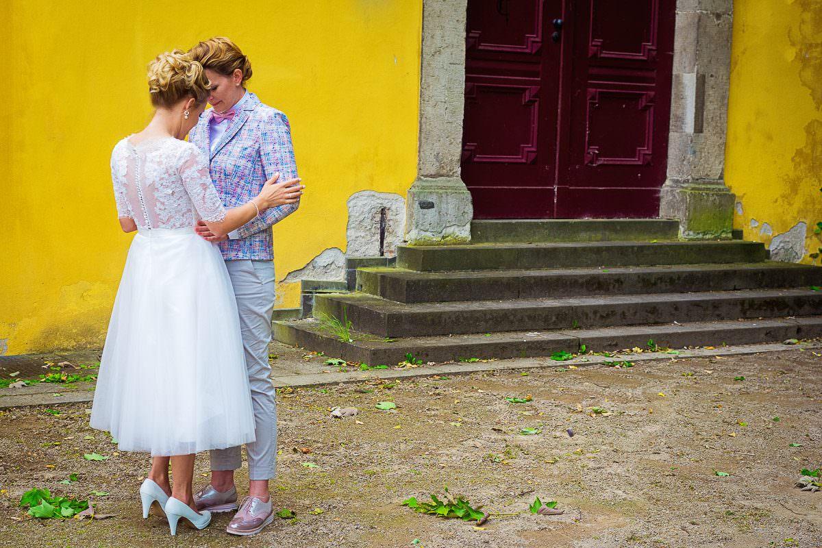 Gleichgeschlechtliche Hochzeit Schloss Benrath Düsseldorf