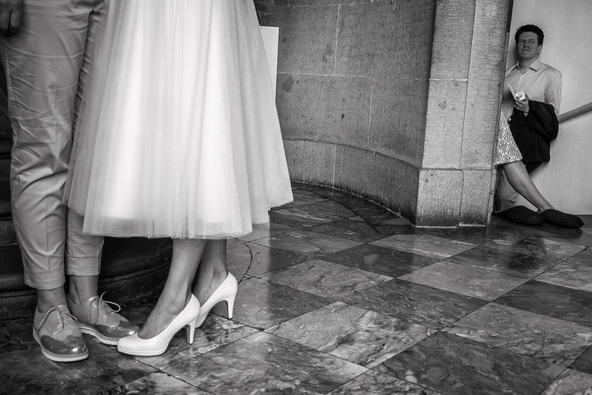 Hochzeit Schloss Benrath mit Hochzeitsfotograf
