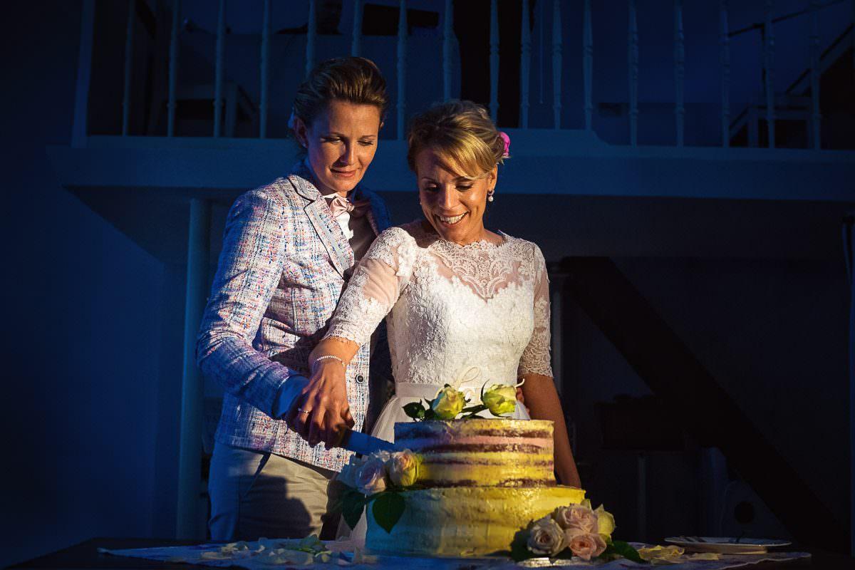 Hochzeitstorte lesbische Hochzeit Köln