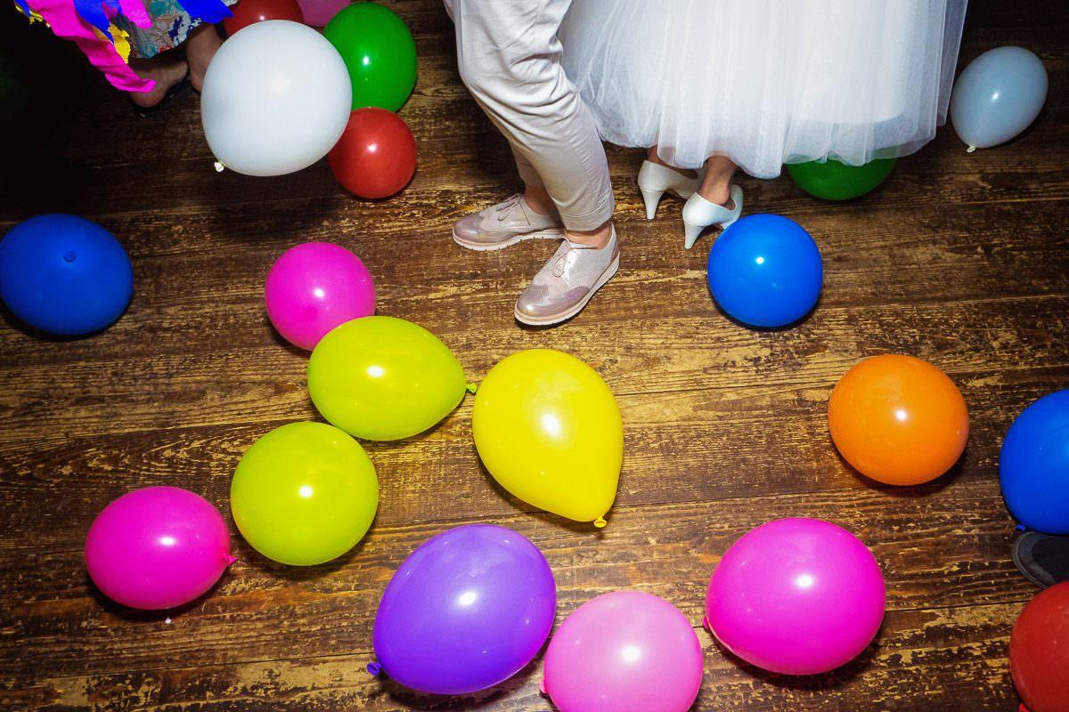 Luftballontanzen Hochzeit