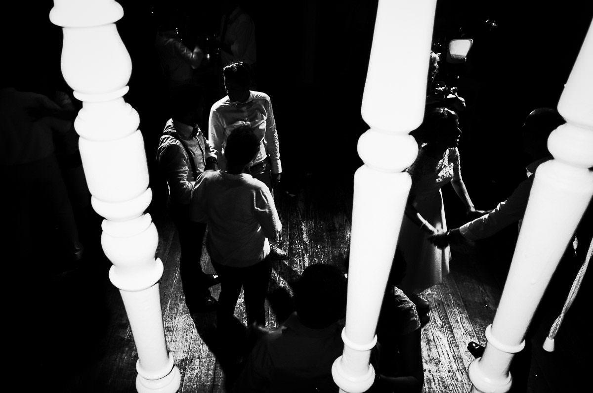 Schwarzweiß Hochzeitsfotos