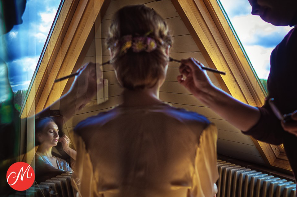 getting Ready - außergewöhnliche Fotos der Braut