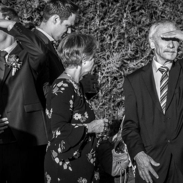 Hochzeitsfotos bei strahlender Sonne