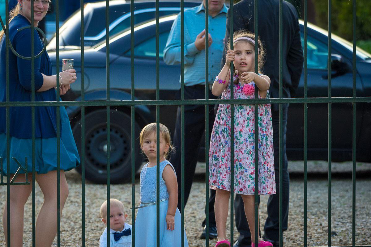 Kinder bei Hochzeitsfeier Düsseldorf