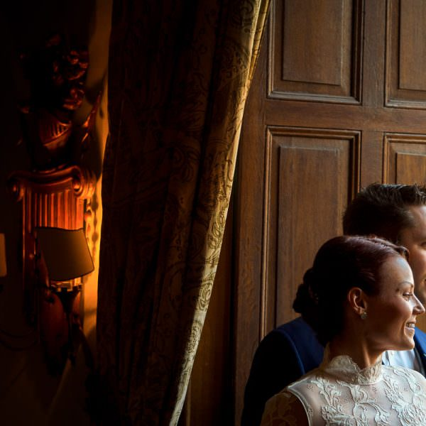 Brautpaarfotos Hochzeit Schloss Hugenpoet