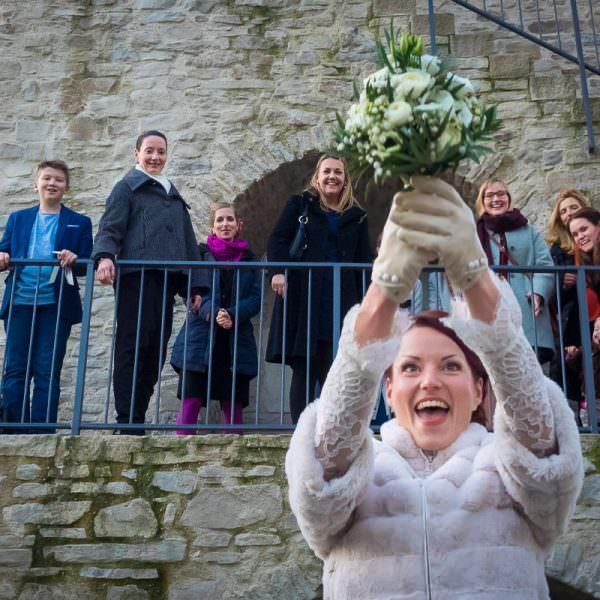 Brautstrausswerfen Düsseldorf