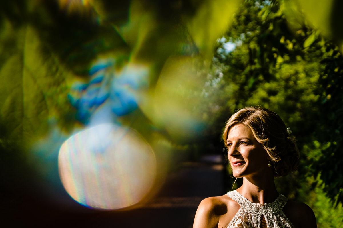 Aussergewoehnliches Brautpaarshooting im Volkspark Duesseldorf mit Hochzeitsfotograf Duesseldorf