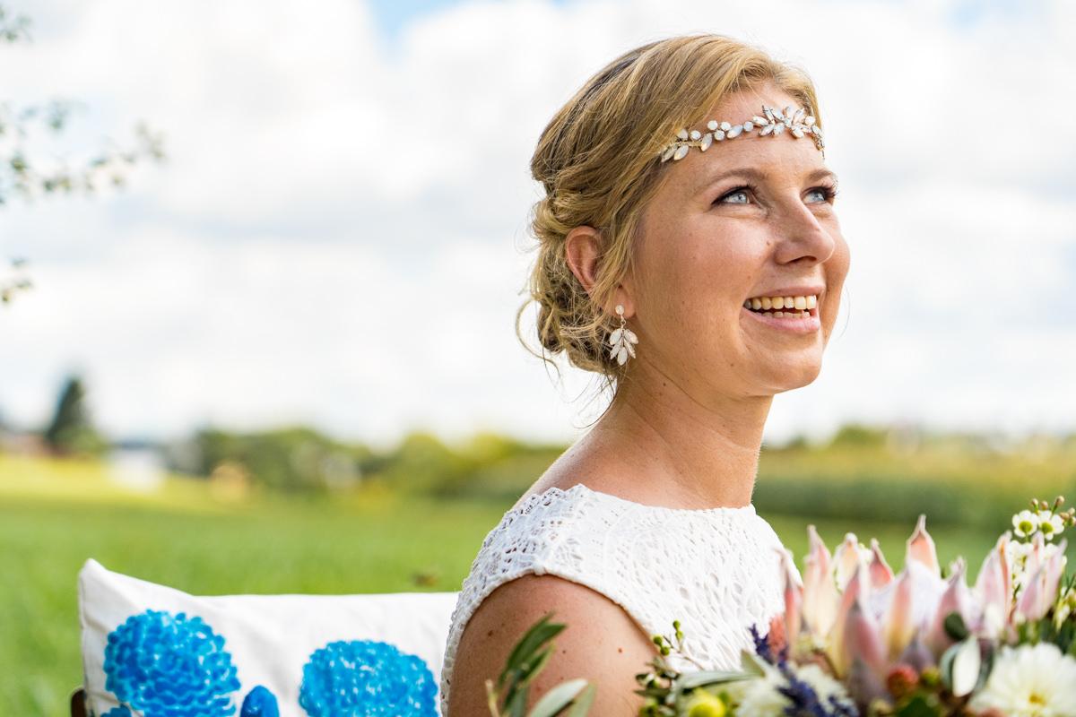 Brautportraet mit Hochzeitsfotograf Duesseldorf
