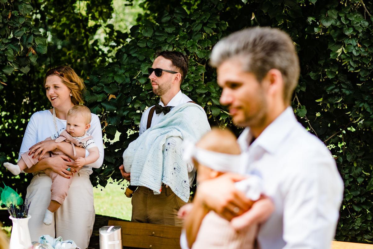 Hochzeit mit Kindern im Freien mit Hochzeitsfotograf Solingen