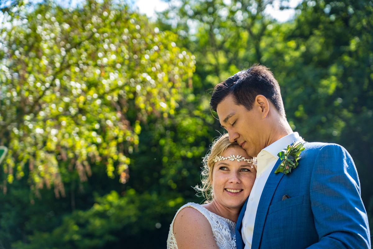 Hochzeitsfotoshooting Balkhauser Kotten mit Hochzeitsfotograf Solingen