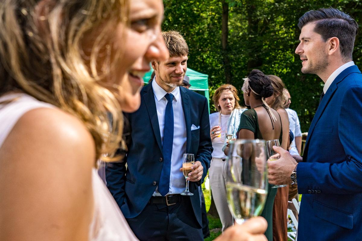 Hochzeitsgesellschaft Solingen mit Hochzeitsfotograf Solingen