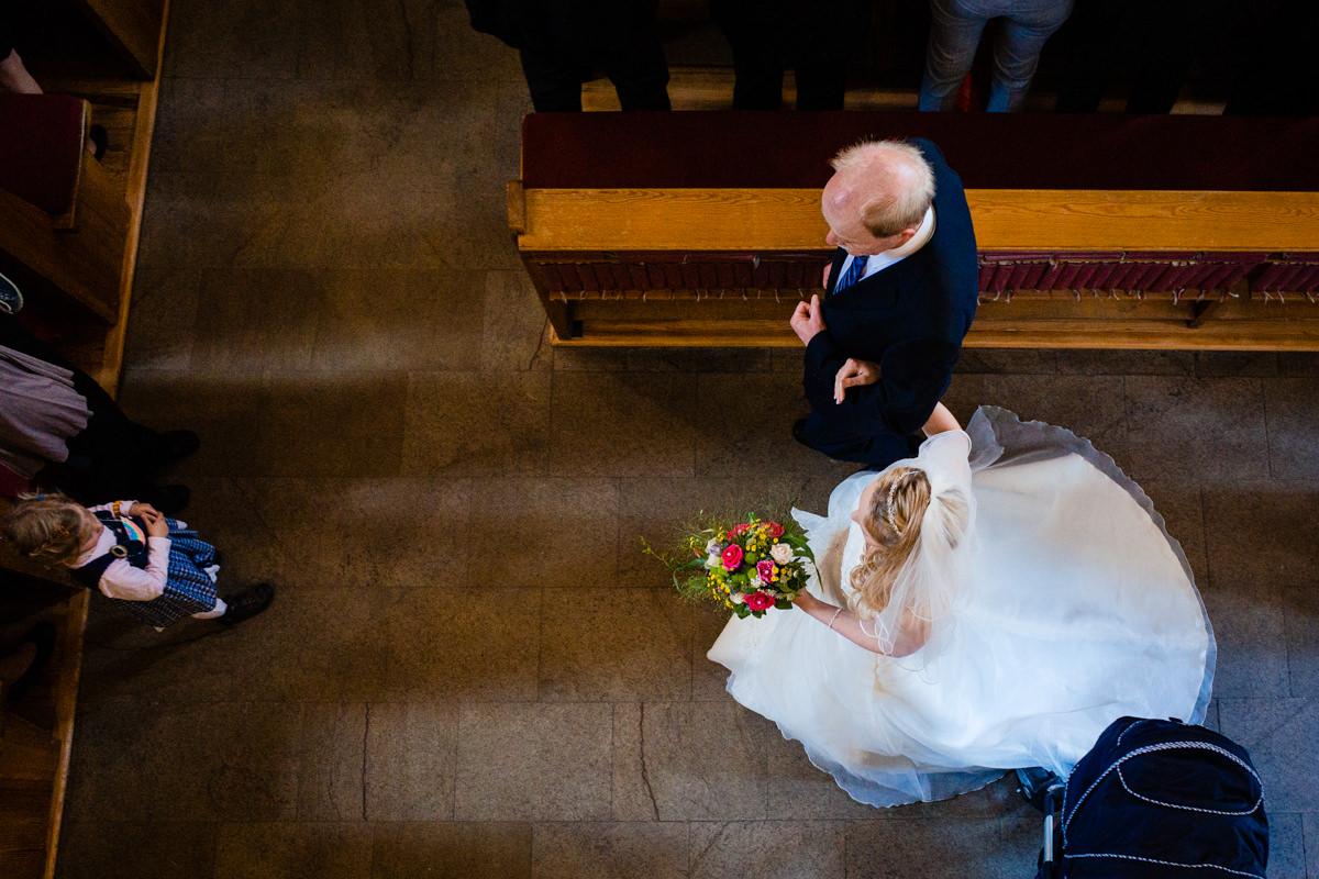 Evangelische Trauung Solingen Graefrath mit Hochzeitsfotograf Solingen