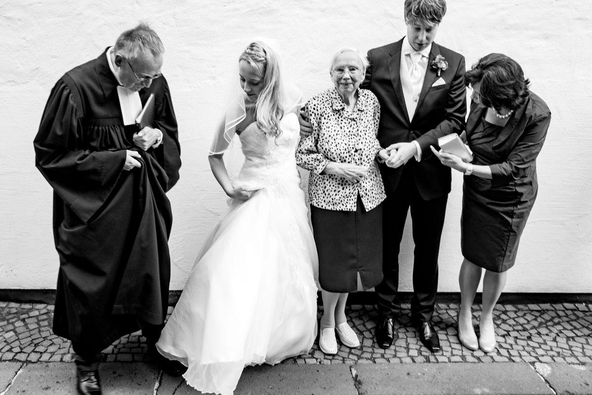 Gruppenfoto Hochzeit Solingen
