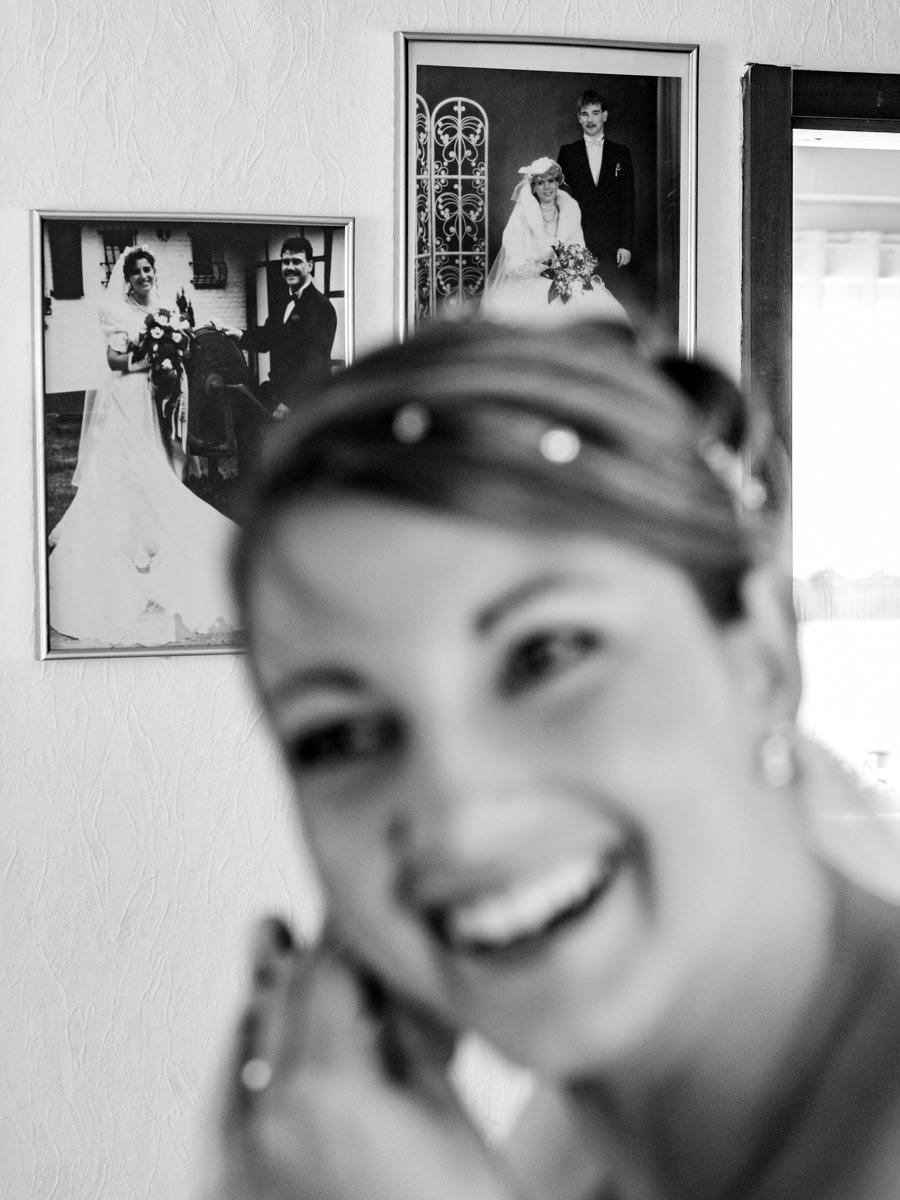 Getting Ready Braut Solingen mit Hochzeitsfotograf Solingen