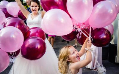 Wenn die Tochter Blumen streut – eine Familienhochzeit in Bonn