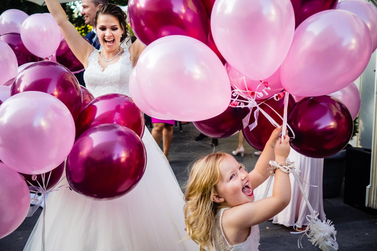 Hochzeitsballons Bonn für Hochzeit Bonn mit Hochzeitsfotograf