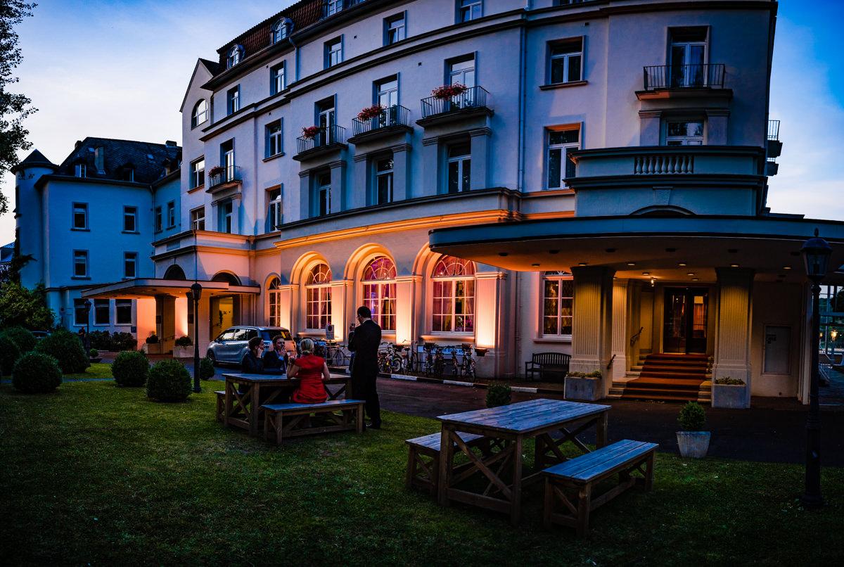 Hochzeitsempfang in Hochzeitslocation Bonn Bad Godesberg mit Hochzeitsfotograf Bonn-10
