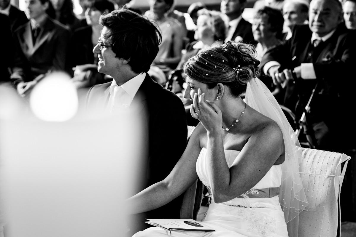 Hochzeitspaar bei kirchlicher Trauung Solingen Widdert mit Hochzeitsfotograf Solingen-4