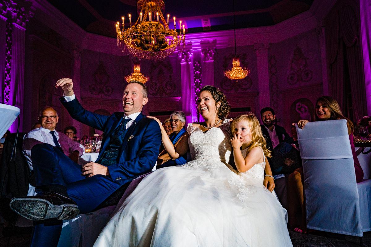 Hochzeitsparty bei Hochzeit Redoute Bonn mit Hochzeitsfotograf Bonn-5
