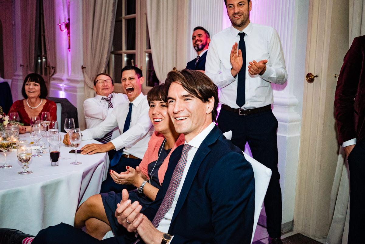 Hochzeitsparty bei Hochzeit Redoute Bonn mit Hochzeitsfotograf Bonn-7