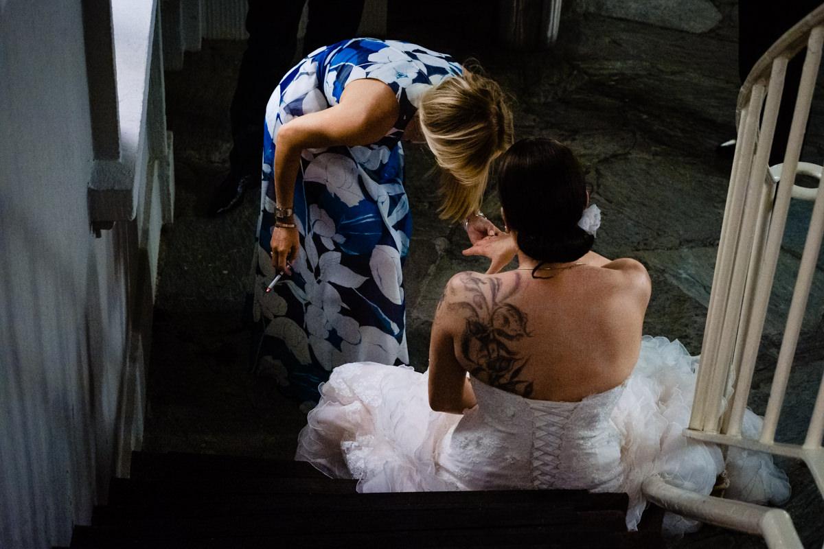Hochzeitsparty bei Hochzeit in Bonn Bad Godesberg Hochzeitslocation Rheinhotel Dreesen mit Hochzeitsfotograf Bonn
