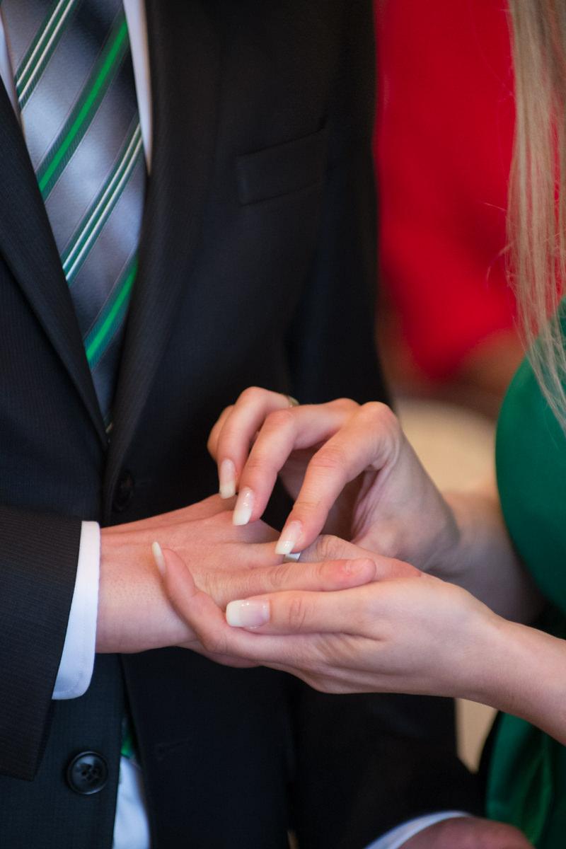Trauung im Standesamt Solingen Haus Kirschheide mit Hochzeitsfotograf Solingen-3